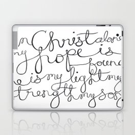 In Christ Alone Laptop & iPad Skin