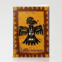 mexican Stationery Cards featuring Mexican design by LoRo  Art & Pictures