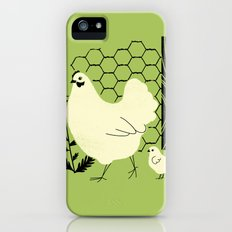 Hen and chick iPhone SE Slim Case