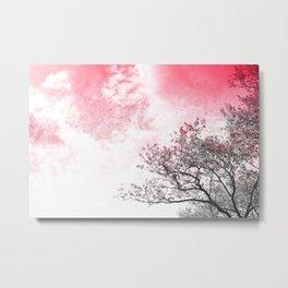 Lookup: Tree Metal Print