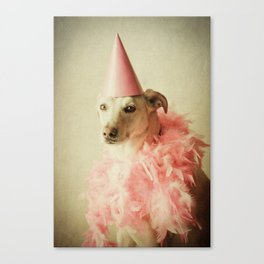 Party Girl Canvas Print