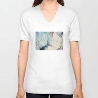david olenick V-neck T-shirts featuring david by sharon