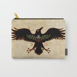 Raven Talisman of Protection Carry-All Pouch