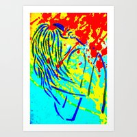Embrace Remixed Art Print