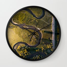 Mother Earth's creation Wall Clock