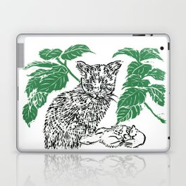 woodblock print Laptop & iPad Skin