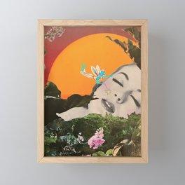 Let the fairies do the work Framed Mini Art Print