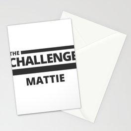 The Challenge: Mattie Stationery Cards