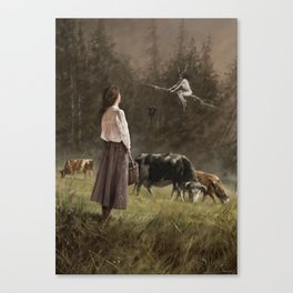 If I only could... Canvas Print