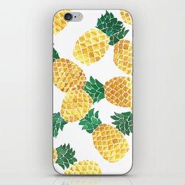 Summer Pineapple Goodness iPhone Skin