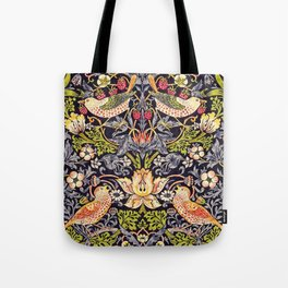 William Morris Strawberry Thief Art Nouveau Painting Tote Bag