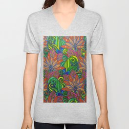 Forest of Acid Unisex V-Neck