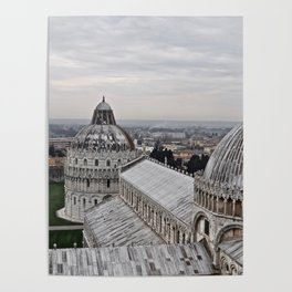 View From The Leaning Tower Poster