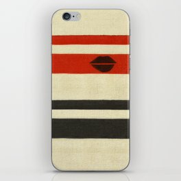 The Lady Vanishes iPhone Skin