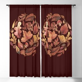 The Winds Of Autumn Have Returned Blackout Curtain