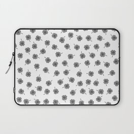 Light Gray Clover Laptop Sleeve