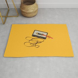 Vintage Music Fashion Rug