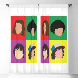 Hawkins Minimalist Pop Art Blackout Curtain