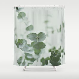 EUCALYPTUS GREEN 2 Shower Curtain