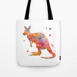 Colorful Kangaroo Tote Bag