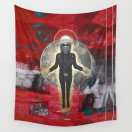 Saint LeRoy of the Sacred Faceless Avatar Wall Tapestry
