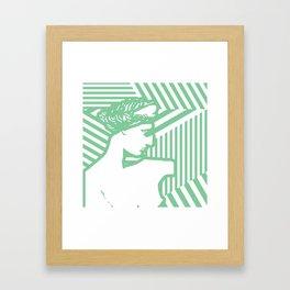 Gods Geometric - Aphrodite Framed Art Print