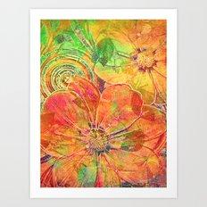 Sweet Summer Art Print