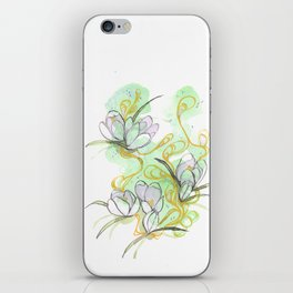 Crocus iPhone Skin