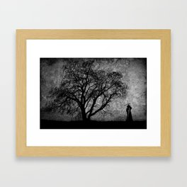 Boundaries Between Framed Art Print
