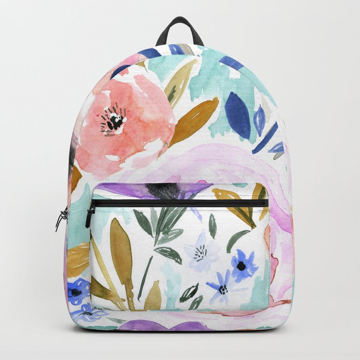 Willow Floral Backpack