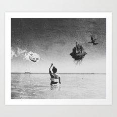 Fantasy Island Art Print