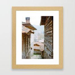 Rural Bulgarian Village Framed Art Print