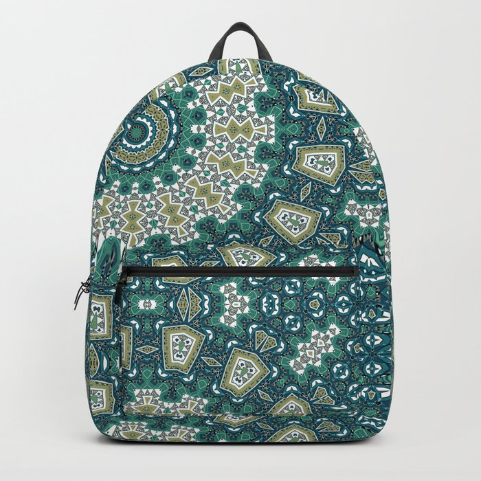 Kaleidoscope. Summer day. Backpack