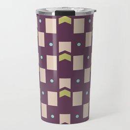 Art Deco Geometric Pattern 273 Travel Mug