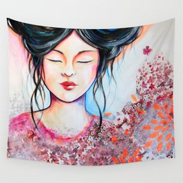 Elea's dreaming Wall Tapestry