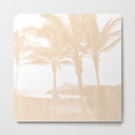 Tropical wood Metal Print