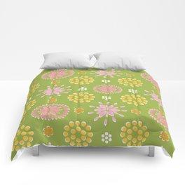 Lime Deco Comforters