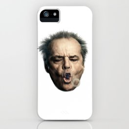 Jack Flew Over The Cuckoo's Nest iPhone Case