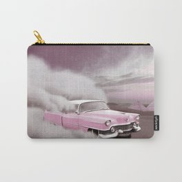 pink cadillac and the Giza Pyramids Carry-All Pouch