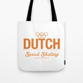 Dutch - Speed Skating Tote Bag