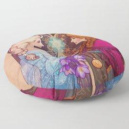 Let Me In Floor Pillow