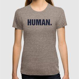HUMAN. T-shirt