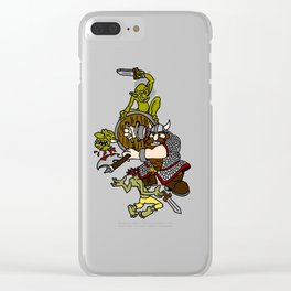 Dwarf And Goblins Clear iPhone Case