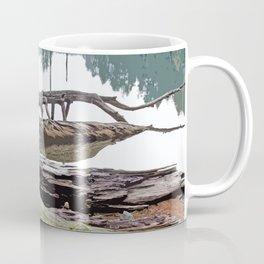 FALLEN TREES ALONG MOUNTAIN LAKE TRAIL Coffee Mug