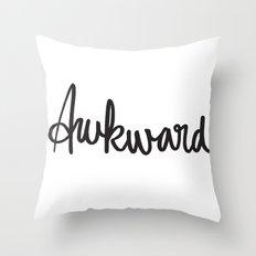 Awk Throw Pillow