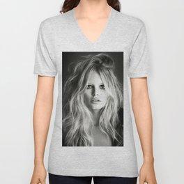 Brigitte Bardot Poster Unisex V-Neck
