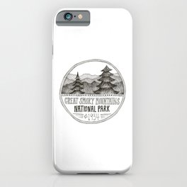 Great Smoky Mountain National Park iPhone Case