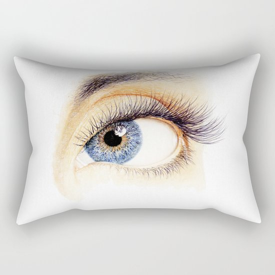 An eye Rectangular Pillow