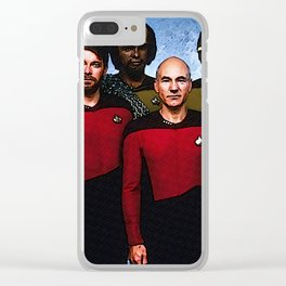 TNG Crew Clear iPhone Case
