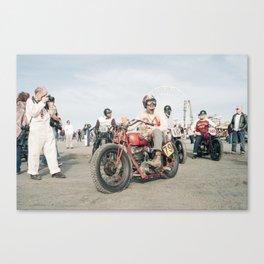 The Race of Gentlemen 79 Canvas Print